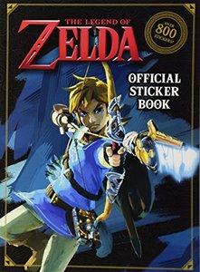 The Legend of Zelda Official Sticker Book (Nintendo)-cover
