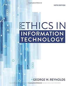 Ethics in Information Technology-cover