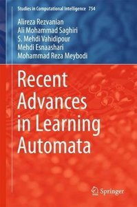 Recent Advances in Learning Automata (Studies in Computational Intelligence)-cover