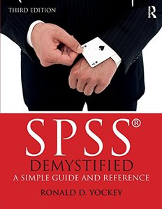 SPSS Demystified: A Simple Guide and Reference-cover