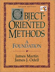 Object-Oriented Methods: A Foundation, UML Edition (2nd Edition)-cover
