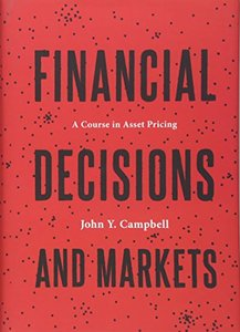 Financial Decisions and Markets: A Course in Asset Pricing (Hardcover)-cover