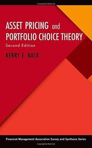 Asset Pricing and Portfolio Choice Theory, 2/e (Hardocver)-cover