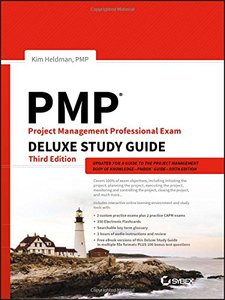 PMP Project Management Professional Exam Deluxe Study Guide-cover