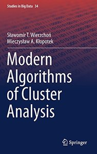 Modern Algorithms of Cluster Analysis (Studies in Big Data)-cover