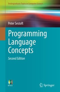 Programming Language Concepts (Undergraduate Topics in Computer Science)-cover