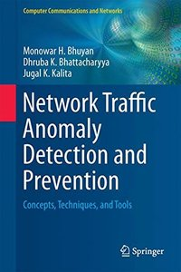Network Traffic Anomaly Detection and Prevention: Concepts, Techniques, and Tools (Computer Communications and Networks)-cover