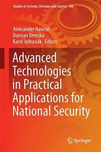 Advanced Technologies in Practical Applications for National Security (Studies in Systems, Decision and Control)-cover