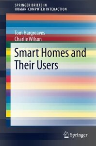 Smart Homes and Their Users (Human–Computer Interaction Series)-cover