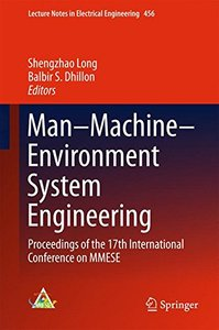 Man–Machine–Environment System Engineering: Proceedings of the 17th International Conference on MMESE (Lecture Notes in Electrical Engineering)