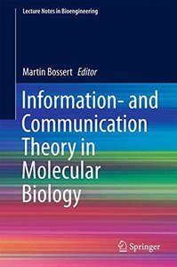 Information- and Communication Theory in Molecular Biology (Lecture Notes in Bioengineering)-cover