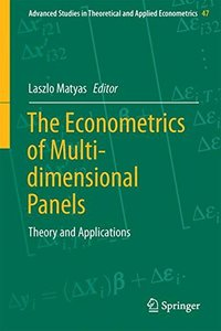 The Econometrics of Multi-dimensional Panels: Theory and Applications (Advanced Studies in Theoretical and Applied Econometrics)-cover