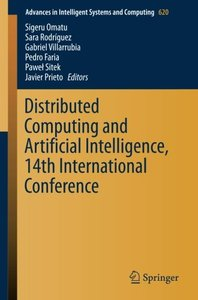 Distributed Computing and Artificial Intelligence, 14th International Conference (Advances in Intelligent Systems and Computing)-cover