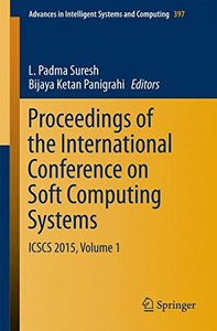 Proceedings of the International Conference on Soft Computing Systems: ICSCS 2015, Volume 1 (Advances in Intelligent Systems and Computing)-cover