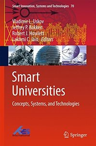 Smart Universities: Concepts, Systems, and Technologies (Smart Innovation, Systems and Technologies)-cover
