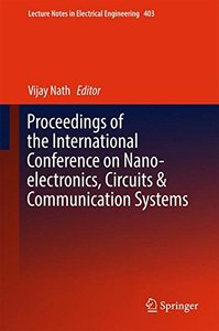 Proceedings of the International Conference on Nano-electronics, Circuits & Communication Systems (Lecture Notes in Electrical Engineering)-cover