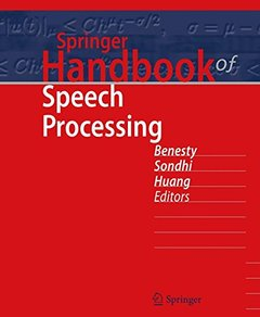 Springer Handbook of Speech Processing (Springer Handbooks)