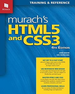 Murach's Html5 and Css3, 4th Edition-cover