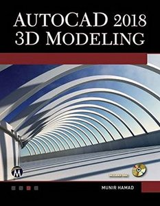 AutoCAD 2018 3D Modeling-cover