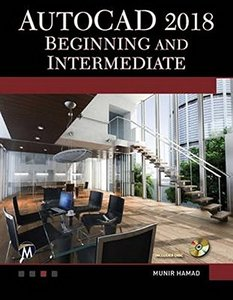 AutoCAD 2018 Beginning and Intermediate-cover