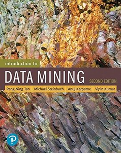 Introduction to Data Mining, 2/e (Hardcover)-cover