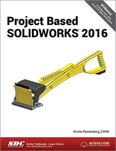 Project Based SOLIDWORKS 2016-cover