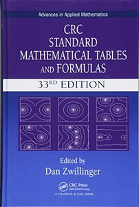 CRC Standard Mathematical Tables and Formulas, 33rd Edition (Advances in Applied Mathematics)-cover