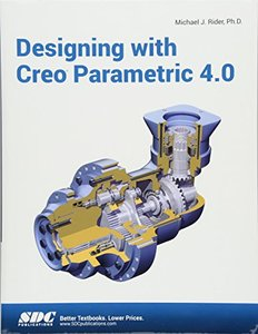 Designing with Creo Parametric 4.0-cover