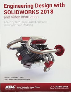 Engineering Design with SOLIDWORKS 2018 and Video Instruction-cover