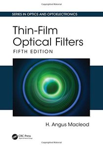 Thin-Film Optical Filters, Fifth Edition (Series in Optics and Optoelectronics)-cover