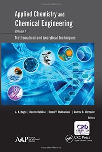 Applied Chemistry and Chemical Engineering, Volume 1: Mathematical and Analytical Techniques-cover