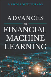 Advances in Financial Machine Learning-cover