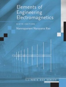 Elements of Engineering Electromagnetics (6th Edition)-cover