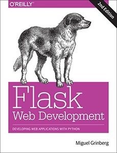 Flask Web Development : Developing Web Applications with Python, 2/e (Paperback)-cover