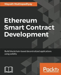 Ethereum Smart Contract Development: Advance your Blockchain career by learning Ethereum concepts and theories-cover
