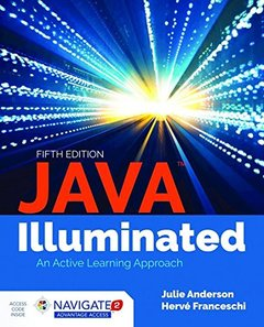 Java Illuminated, 5/e (Paperback)-cover