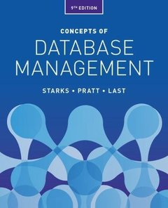 Concepts of Database Management-cover