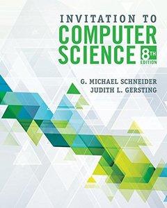 Invitation to Computer Science, 8/e (Paperback)-cover