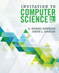 Invitation to Computer Science, Loose-Leaf Version-cover