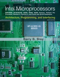 The Intel Microprocessors, 8/e (Hardcover)-cover
