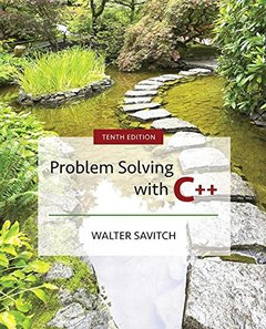Problem Solving with C++, 10/e (Paperback)-cover