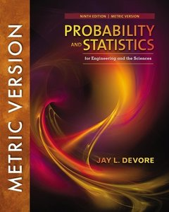 Probability and Statistics for Engineering and the Sciences, 9/e (Metric Edition)(Paperback)-cover