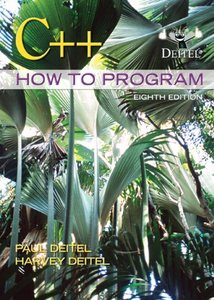 C++ How to Program, 8/e (Paperback)-cover