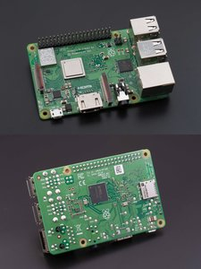 Raspberry Pi 3 Model B+ (UK製)-cover