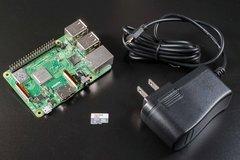 Raspberry Pi 3 Model B+ 樹莓派套件組--簡配A(含Pi 3 B+、32G記憶卡、電源)-cover