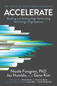 Accelerate: The Science of Lean Software and DevOps: Building and Scaling High Performing Technology Organizations-cover