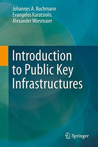 Introduction to Public Key Infrastructures-cover
