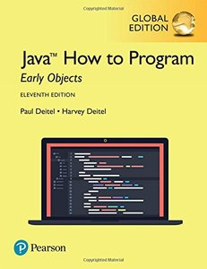 Java How To Program - Early Objects Version, 11/e (GE-Paperback)-cover