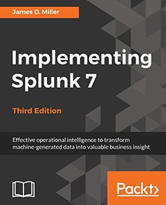 Implementing Splunk 7, Third Edition-cover