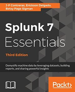 Splunk 7 Essentials, Third Edition-cover